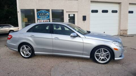 2013 Mercedes-Benz E-Class for sale at De Kam Auto Brokers in Colorado Springs CO