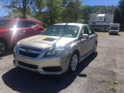 2014 Subaru Legacy for sale at K B Motors in Clearfield PA