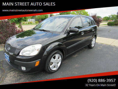 2009 Kia Rio5 for sale at MAIN STREET AUTO SALES in Neenah WI