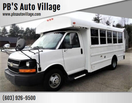 2013 Chevrolet Express Cutaway for sale at PB'S Auto Village in Hampton Falls NH