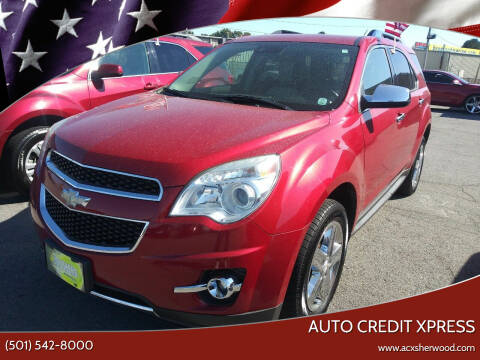 2015 Chevrolet Equinox for sale at Auto Credit Xpress in North Little Rock AR