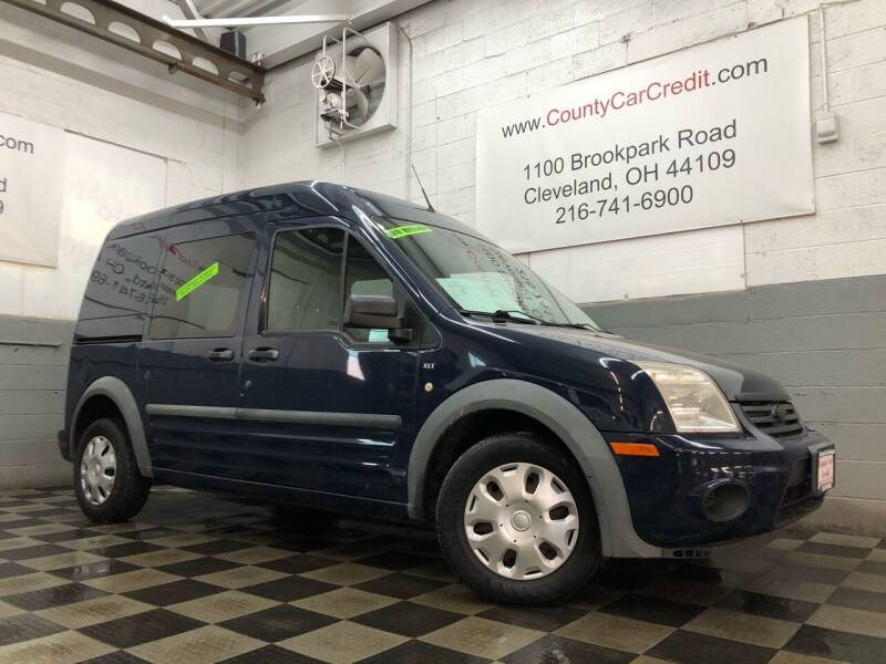 2010 Ford Transit Connect for sale at County Car Credit in Cleveland OH