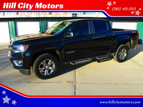 2016 Chevrolet Colorado for sale at Hill City Motors in Hill City KS