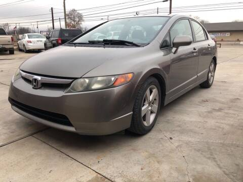 2007 Honda Civic for sale at Texas Auto Broker in Killeen TX