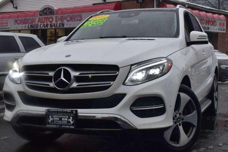 2017 Mercedes-Benz GLE for sale at Foreign Auto Imports in Irvington NJ