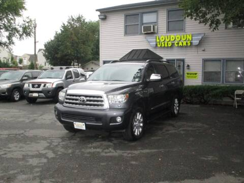 2012 Toyota Sequoia for sale at Loudoun Used Cars in Leesburg VA