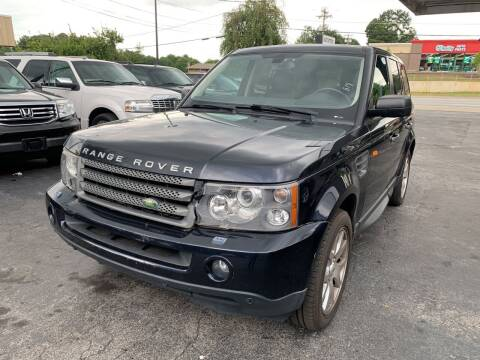2008 Land Rover Range Rover Sport for sale at Magic Motors Inc. in Snellville GA