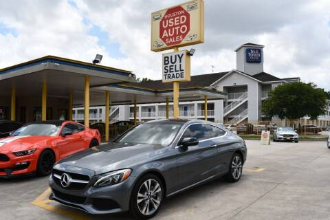 2017 Mercedes-Benz C-Class for sale at Houston Used Auto Sales in Houston TX