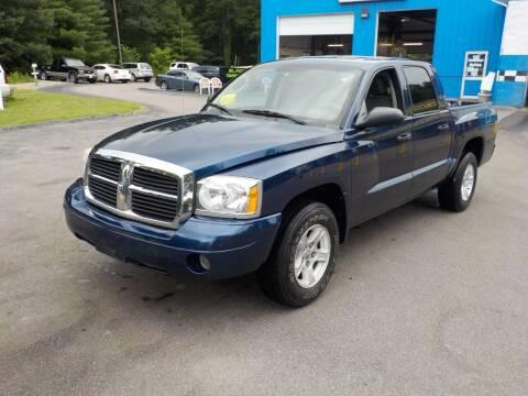2006 Dodge Dakota for sale at RTE 123 Village Auto Sales Inc. in Attleboro MA
