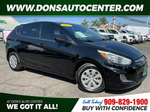 2016 Hyundai Accent for sale at Dons Auto Center in Fontana CA