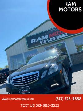 2011 Mercedes-Benz E-Class for sale at RAM MOTORS in Cincinnati OH