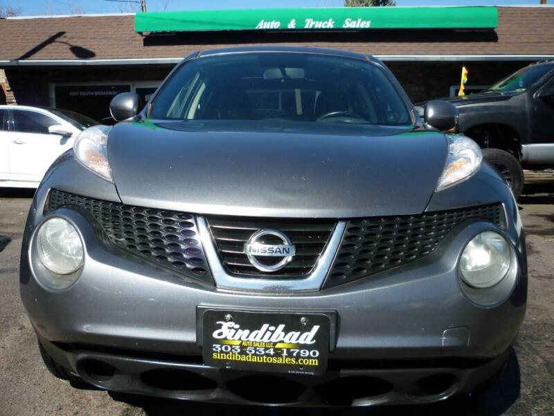 2013 Nissan JUKE for sale at Sindibad Auto Sale, LLC in Englewood CO