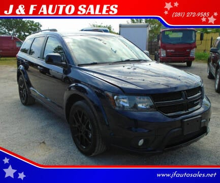 2017 Dodge Journey for sale at J & F AUTO SALES in Houston TX