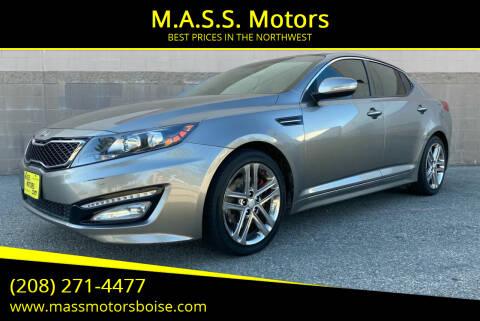 2013 Kia Optima for sale at M.A.S.S. Motors - Emerald in Boise ID