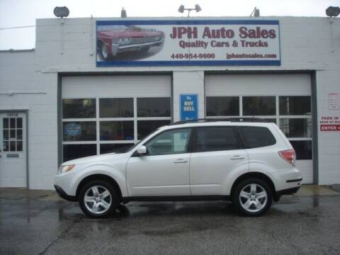 2010 Subaru Forester for sale at JPH Auto Sales in Eastlake OH