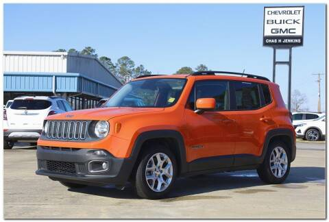 2015 Jeep Renegade for sale at STRICKLAND AUTO GROUP INC in Ahoskie NC