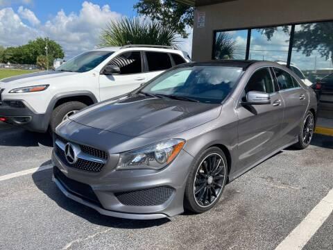 2015 Mercedes-Benz CLA for sale at Top Garage Commercial LLC in Ocoee FL