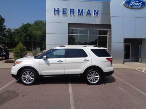 2014 Ford Explorer for sale at Herman Motors in Luverne MN