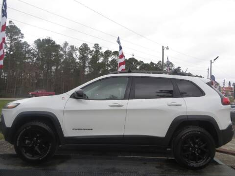 2015 Jeep Cherokee for sale at Ward's Motorsports in Pensacola FL