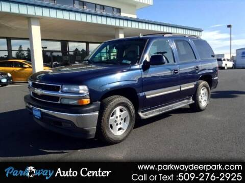 2006 Chevrolet Tahoe for sale at PARKWAY AUTO CENTER AND RV in Deer Park WA