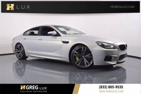 2014 BMW M6 for sale at HGREG LUX EXCLUSIVE MOTORCARS in Pompano Beach FL