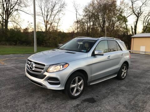 2017 Mercedes-Benz GLE for sale at Jackie's Car Shop in Emigsville PA