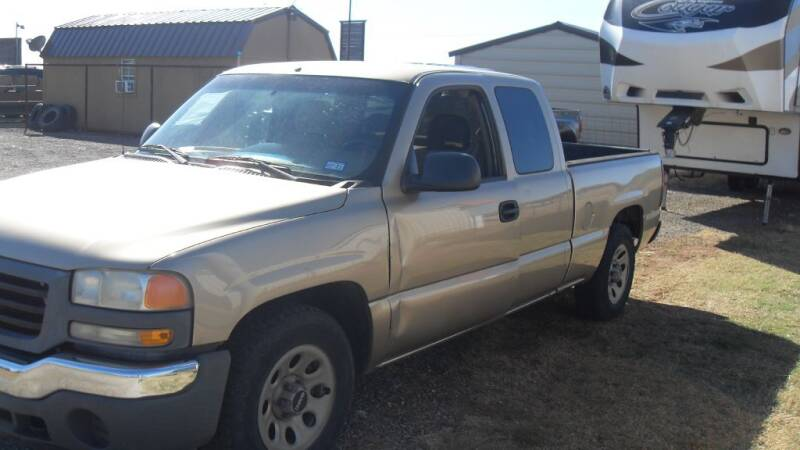2005 GMC Sierra 1500 for sale at 277 Motors in Hawley TX