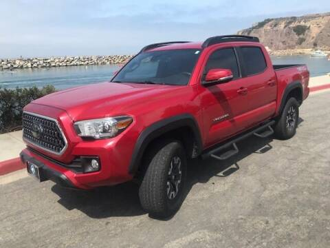 2018 Toyota Tacoma for sale at PRIUS PLANET in Laguna Hills CA