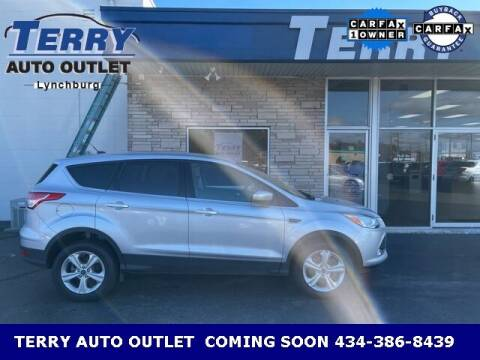 2016 Ford Escape for sale at Terry Auto Outlet in Lynchburg VA