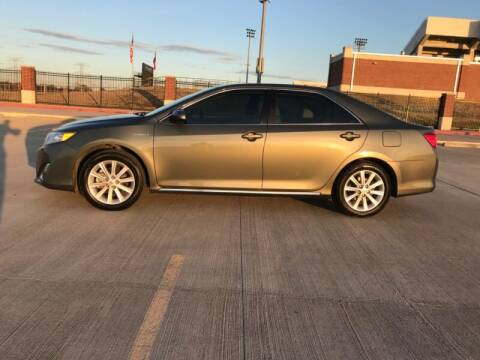 2013 Toyota Camry Hybrid for sale at ALL AMERICAN FINANCE AND AUTO in Houston TX