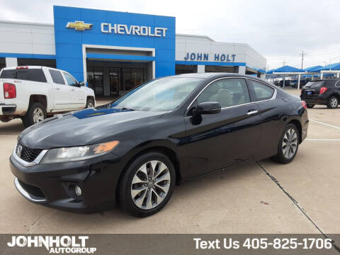 2015 Honda Accord for sale at JOHN HOLT AUTO GROUP, INC. in Chickasha OK