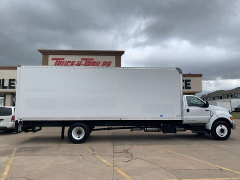 2013 Ford F-750 Super Duty for sale at TRUCK N TRAILER in Oklahoma City OK