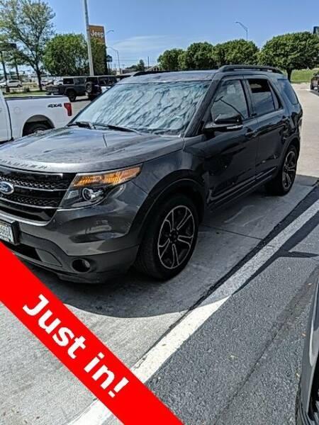 2015 Ford Explorer for sale at MIDWAY CHRYSLER DODGE JEEP RAM in Kearney NE