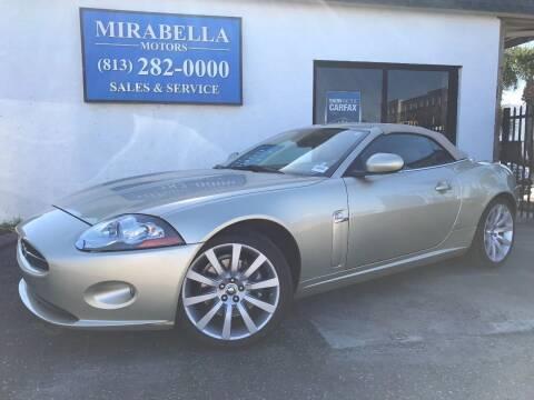 2008 Jaguar XK-Series for sale at Mirabella Motors in Tampa FL