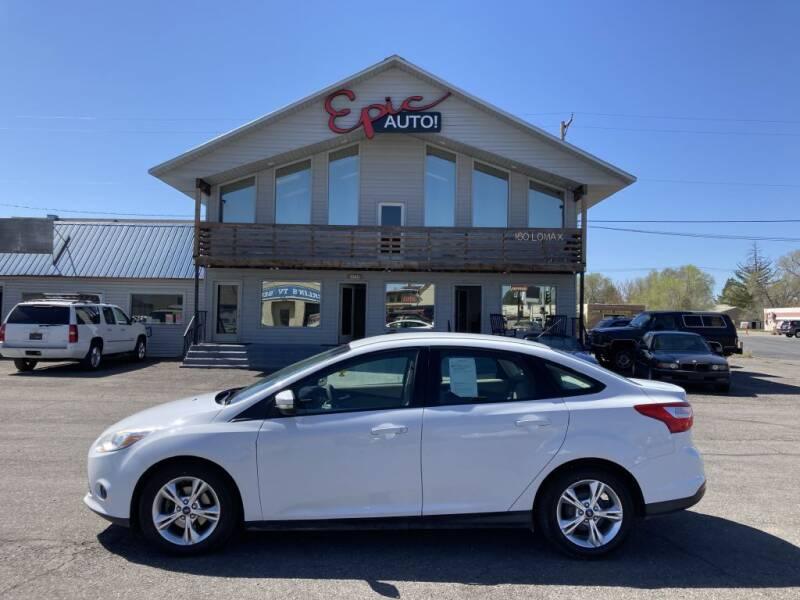 2013 Ford Focus for sale at Epic Auto in Idaho Falls ID
