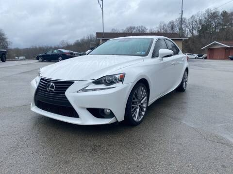 2014 Lexus IS 250 for sale at Elite Motors in Uniontown PA