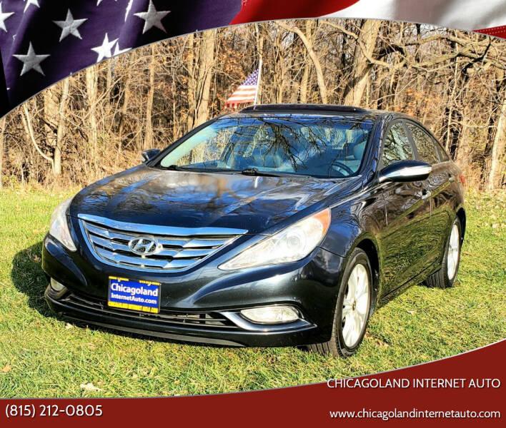 2011 Hyundai Sonata for sale at Chicagoland Internet Auto - 410 N Vine St New Lenox IL, 60451 in New Lenox IL
