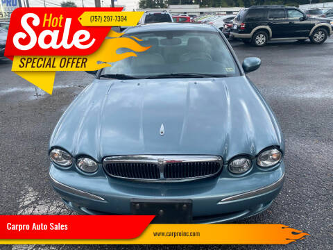 2003 Jaguar X-Type for sale at Carpro Auto Sales in Chesapeake VA