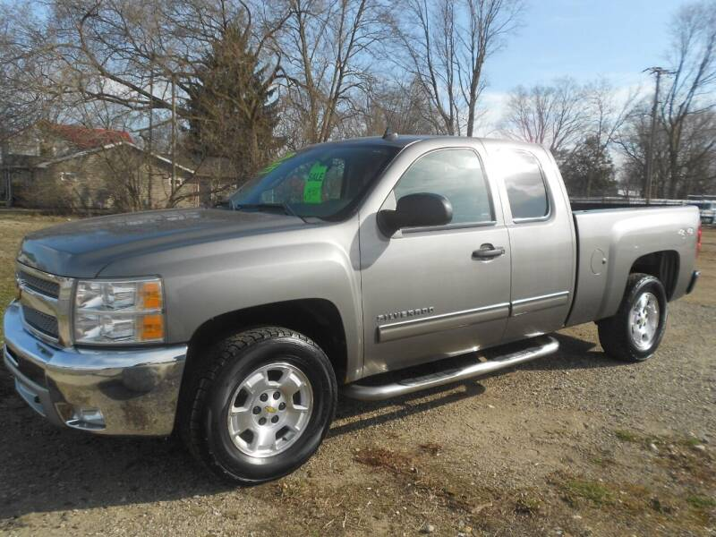 2013 Chevrolet Silverado 1500 for sale at Mark's Sales and Service in Schoolcraft MI