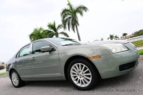 2008 Mercury Milan for sale at MOTORCARS in West Palm Beach FL