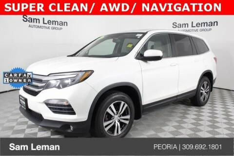 2017 Honda Pilot for sale at Sam Leman Chrysler Jeep Dodge of Peoria in Peoria IL