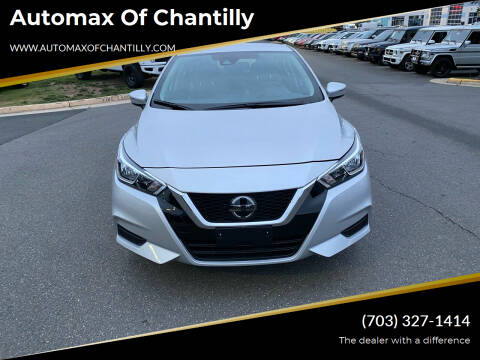 2021 Nissan Versa for sale at Automax of Chantilly in Chantilly VA