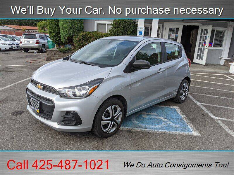 2016 Chevrolet Spark for sale at Platinum Autos in Woodinville WA