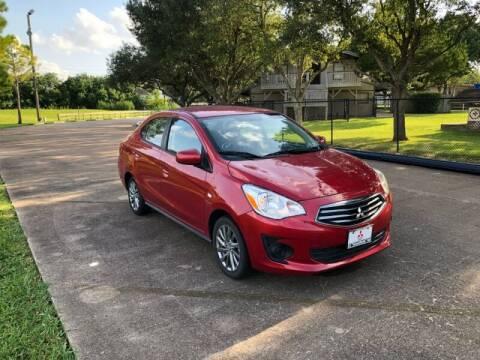 2019 Mitsubishi Mirage G4 for sale at Orange Auto Sales in Houston TX