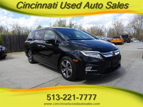 2018 Honda Odyssey for sale at Cincinnati Used Auto Sales in Cincinnati OH