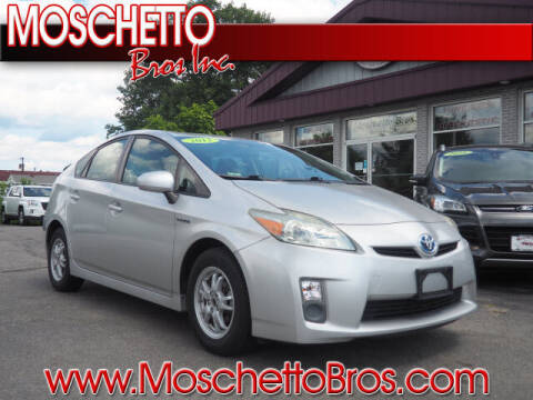 2011 Toyota Prius for sale at Moschetto Bros. Inc in Methuen MA
