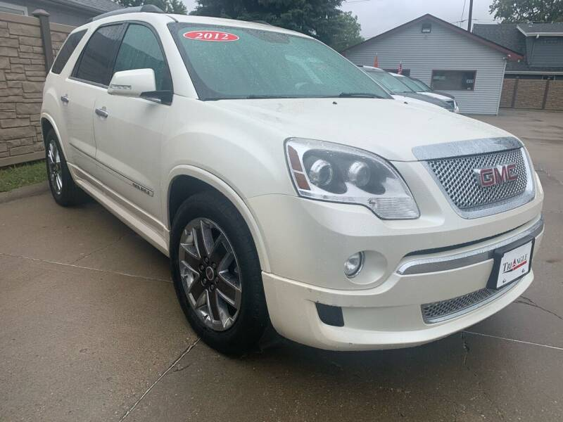 2012 GMC Acadia for sale at Triangle Auto Sales in Omaha NE