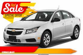 2014 Chevrolet Cruze for sale at GOWHEELMART in Leesville LA
