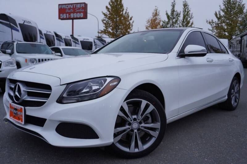 2017 Mercedes-Benz C-Class for sale at Frontier Auto & RV Sales in Anchorage AK