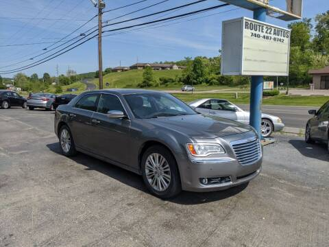 2011 Chrysler 300 for sale at Route 22 Autos in Zanesville OH